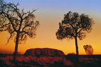 Uluru 'Ayers Rock' - for the promotion of cultural tourism in northern territory- Photo courtesy of NTTC
