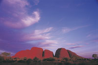 Kata Tjuta 'The Olgas' - for the promotion of cultural tourism in northern territory- Photo courtesy of NTTC