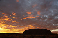 Uluru sunset co