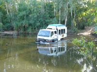 Seasonal - Kakadu crossing to Twin Falls  - Note Dry Season access only - dependant on seasonal conditions access app. July - Sept.